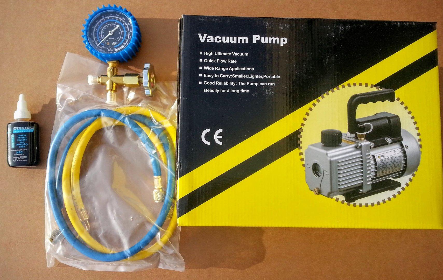 Best Hvac Vacuum Pump For The Money Mini Split Self