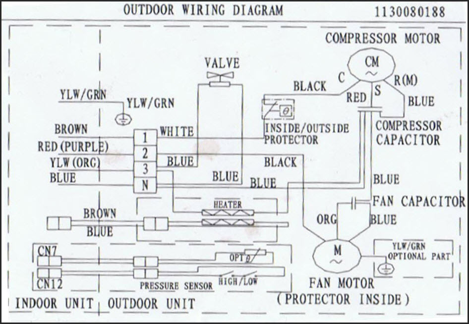 12000 btu wiring sharkaire rh sharkaire com outdoor socket wiring diagram exterior wiring diagram