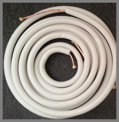 "25' long Copper Line set 1/4"" and 3/8""  for 12000 BTU"